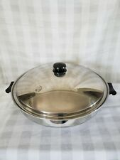 Saladmaster 7 Quart 15 Wok 5 Star Tp304s Surgical Stainless Steel Waterless USA