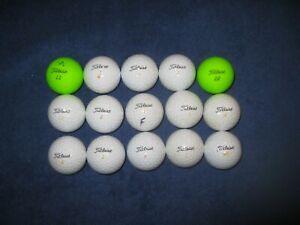 15 Titleist Velocity Golf Balls -- AAAA Mint Condition = Great Buy