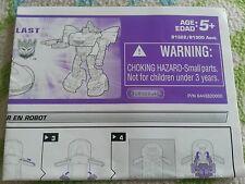 Transformers ALTERNATORS SHOCKBLAST INSTRUCTION BOOKLET  AUTHENTIC