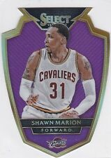 Shawn Marion 2014-15 Select,Purple Die-Cut Prizm,47/99, Sammelkarte