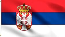 Serbian Flag 3x5ft Republic of Serbia Country National Banner Belgrade Serb