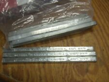 Lot Of 10 Bars Kester Solder Ultra Pure Astm Class A Tin 1 Pound Bar