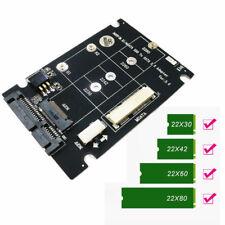 2 en 1 mSATA SSD & Mini PCI-E M.2 NGFF vers 3.0 III Adaptateur Convertisseur