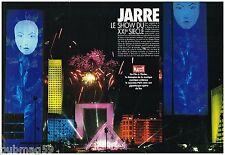 Coupure de presse Clipping 1990 (12 pages) Jean Michel Jarre à Paris