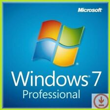 Windows 7 Pro 64/32bit Lifetime Genuine key - Instant Message delivery