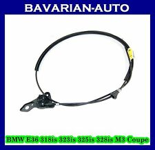 NEW BMW E36 318is 323is 325is 328is M3 Coupe HOOD LOCK LATCH RELEASE CABLE WIRE