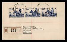 Dr Who 1950 Australia Kerema Registered To England C219547
