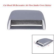 Car SUV Front Hood 3D Decorative Air Flow Intake Scoop Vent Bonnet Cover Sticker