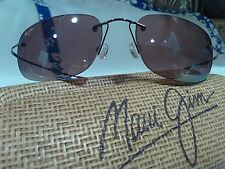 "Maui jim""KAPALUA""502-02 GUNMETAL/BRONZE, NEW W/HARDCASE,ULTRA RARE,LAST ONE!"