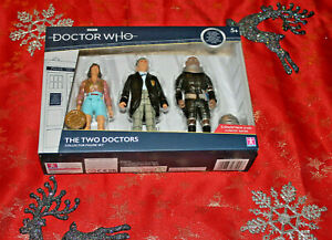 2ND DOCTOR PERI & STIKE WHO LIMITED EDITION MINT COLLECTORS SET THE TWO DOCTORS