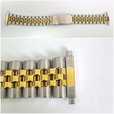 ORO/ARGENTO 18-22 giubileo in acciaio inox Orologio Cinturini Bracciale Uomo