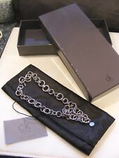 CALVIN KLEIN HEAVY CHUNKY CHAIN NECKLACE  BOXED