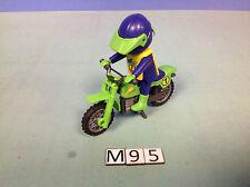 (M95) playmobil motode course verte