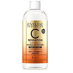 Eveline C Sensation 3in1 Micellar Water Pure Vitality Combination Skin 400ml