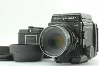 【Near MINT】 Mamiya RB67 Pro S w/ Sekor C 127mm f/3.8 Lens 2 Film back from JAPAN