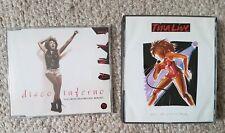 TINA TURNER- LIVE IN EUROPE- 2 CD- FAT BOX- GOOD Cond. & disco inferno single