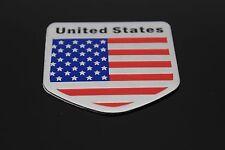 2X Car/Motorcycle Decal American Usa Us Flag Decor Sticker 3D Emblem Badge Logo