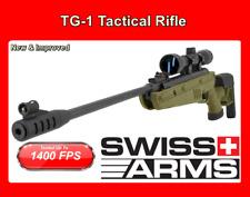 Swiss Arms Air Rifle w/ Scope Single Pump Break Barrel - 1400 FPS ⭐⭐⭐⭐⭐