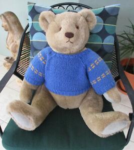 "Rare 26"" Vintage Bialosky Bear fully jointed teddy bear Gund 1982"