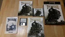 Railroad Tycoon II 2  PC Game CD Rom + Original Railroad Tycoon w/ 3.5 disk