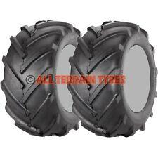 16x650-8 Chevron Rotovator Tractive Plant Garden Tractor Pair Tyres 16x6.50-8