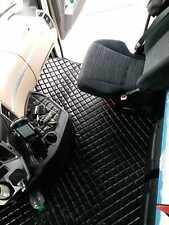 LKW Mercedes Actros MP4 ab 2011 Passform Fußmatten Teppich Kunstleder Schwarz