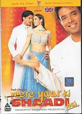 MERE YAAR KI SHAADI HAI - NEW ORIGINAL BOLLYWOOD DVD –