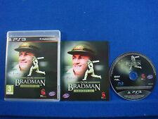 ps3 DON BRADMAN Cricket 14 EXCLUSIVE Playstation REGION FREE PAL ENGLISH 2014