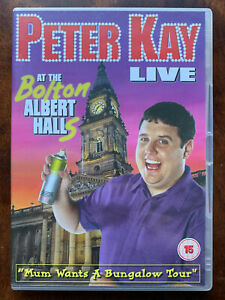 Peter Kay Live at the Bolton Albert Halls DVD Stand Up Comedy