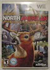 Nintendo Wii Cabela's North American Adventures (Manual, box and game)