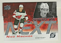 2019-20 Upper Deck NEXT GENERATION #GN-20 NICO HISCHIER New Jersey Devils