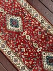 Vintage Traditional Runner, Intricate Floral Designs, Handmade in India 3x8