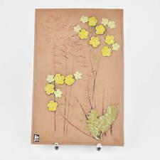 Jie Gantofta Kachel - Sweden / Schweden - Keramik - Blumen - Wandplatte - gross