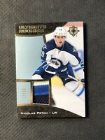 2015-16 UPPER DECK ULTIMATE NICOLAS PETAN ROOKIE PATCH #ed 15/25