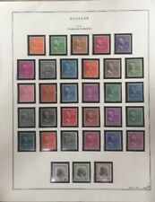 1938 Presidential Definitives Postage Stamp Collection 803-34 Unwatermarked MNH
