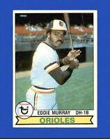 1979 Topps Set Break #640 Eddie Murray Baseball Card Baltimore Orioles HOF