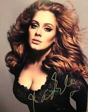 ADELE REPRINT SIGNED 8X10 PHOTO AUTOGRAPHED PICTURE CHRISTMAS GIFT MAN CAVE