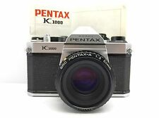 PENTAX K1000 with lens SMC PENTAX-A 50mm f2 + Manual (7831014)
