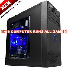 Intel i7 Quad Core Gaming Desktop PC Computer - 16GB SSD Radeon RX 470 8GB HDMI