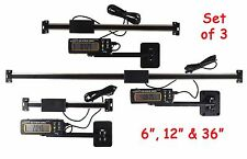 "Set 6"" 12"" & 36"" Igaging Digital Readout DRO AC Pwr Articulating Remote Display"