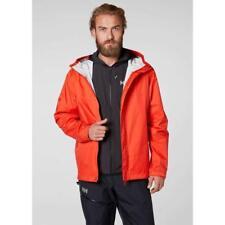 Helly Hansen Men's Loke Waterproof Shell Jacket Bright Red Large