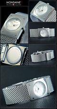 Bonito Diseño Reloj de mujer m-watch de DE LA CASA Mondaine melanaise Pulsera