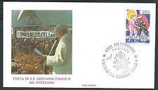 1985 VATICANO VIAGGI DEL PAPA AVEZZANO - RM3