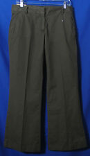 J.Crew Size 6 New Pants Broken In Chinos Low Fit Olive Green NWT