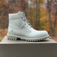 """Timberland Men's 6"""" Inch Premium Light Blue Waterproof Boots A1OGW"""