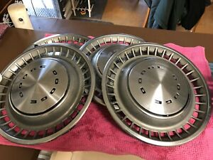 1972-1976 Dodge Challenger Or Charger Hub Caps