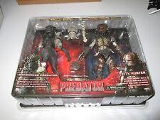 Neca predator barbare & city hunter 2 pack set moc avp action figures rare