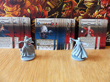 Zombicide: Green Horde: Queen Severa & Count Temeraire Necromancer + Weapons