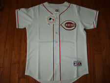 Cincinnati Reds White Home Jersey w/Tags  Size XL (Adult)