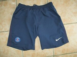 Short PSG PARIS SAINT-GERMAIN NIKE bleu marine football L